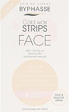 Düfte, Parfümerie und Kosmetik Enthaarungswachsstreifen für das Gesicht und empfindliche Zonen - Byphasse