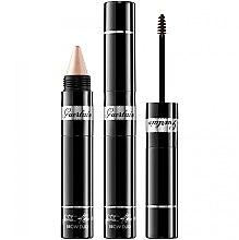 Düfte, Parfümerie und Kosmetik 2in1 Mascara und Highlighter für Augenbrauen - Guerlain La Petite Robe Noire Brow Duo