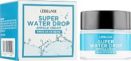 Düfte, Parfümerie und Kosmetik Extra feuchtigkeitsspendende Gesichtscreme - Lebelage Ampule Cream Super Water Drop