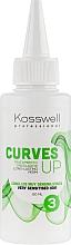 Düfte, Parfümerie und Kosmetik Dauerwelle-Lotion für überempfindliches Haar - Kosswell Professional Curves Up 3