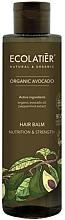 Düfte, Parfümerie und Kosmetik Nährende und stärkende Haarspülung mit Bio Avocadoöl und Pfefferminz-Extrakt - Ecolatier Organic Avocado Hair Balm