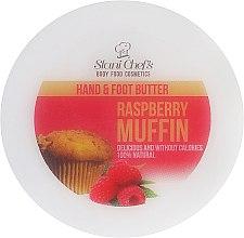 """Düfte, Parfümerie und Kosmetik Beruhigende, feuchtigkeitsspendende und schützende Hand- und Fußcreme """"Himbeermuffin"""" - Stani Chef's Raspberry Muffin Hand & Foot Butter"""