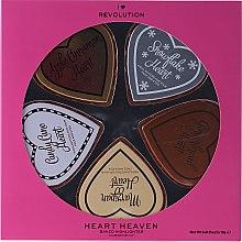 Düfte, Parfümerie und Kosmetik Highlighter-Set - Makeup Revolution I Heart Heaven (Highlighter/5x10g)