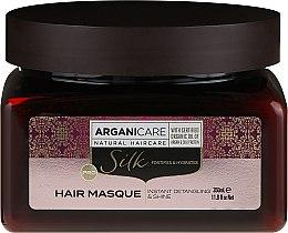 Düfte, Parfümerie und Kosmetik Haarmaske mit Seidenproteinen - Arganicare Silk Hair Masque