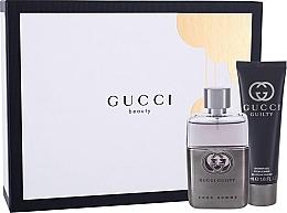 Düfte, Parfümerie und Kosmetik Gucci Guilty Pour Homme - Duftset (Eau de Toilette 50ml + Duschgel 50ml)