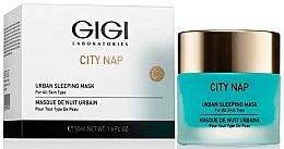 Düfte, Parfümerie und Kosmetik Schlafmaske für alle Hauttypen - Gigi City Nap Urban Sleeping Mask
