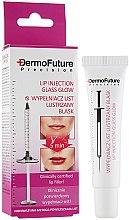 Düfte, Parfümerie und Kosmetik Lippenserum mit Glanzeffekt und Hyaluronsäure - DermoFuture Lip Injection Glass Glow