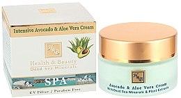 Düfte, Parfümerie und Kosmetik Intensive feuchtigkeitsspendende Gesichtscreme mit Aloe und Avocado - Health And Beauty Intensive Avocado & Aloe Vera Cream