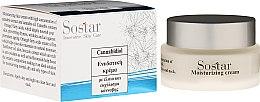 Düfte, Parfümerie und Kosmetik Feuchtigkeitsspendende Tagescreme mit Hanfextrakt und Hanföl - Sostar Cannabidiol Moist