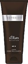 Düfte, Parfümerie und Kosmetik S.Oliver Superior Men - 2in1 Duschgel und Shampoo für Männer