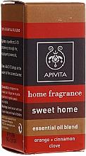 Düfte, Parfümerie und Kosmetik Ölmischung aus Zimt, Nelke und Orange - Apivita Aromatherapy Home Fragrance