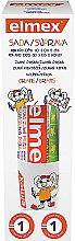 Düfte, Parfümerie und Kosmetik Zahnpflegeset für Kinder - Elmex Kids (Zahnpasta 50ml + Glas 1 St.)