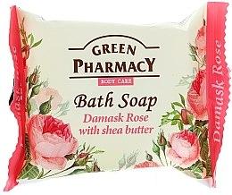 """Seife """"Damaszener Rose mit Sheabutter"""" - Green Pharmacy — Bild N1"""