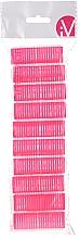 Düfte, Parfümerie und Kosmetik Klettwickler 499600 rosa - Inter-Vion