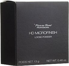 Düfte, Parfümerie und Kosmetik Loser Gesichtspuder - Pierre Rene Professional HD Microfinish Loose Powder