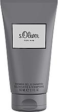 Düfte, Parfümerie und Kosmetik S.Oliver For Him - 2in1 Duschgel und Shampoo