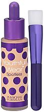 Düfte, Parfümerie und Kosmetik Foundation mit Foundationpinsel - Physicians Formula Youthful Wear Spotless Foundation SPF 15