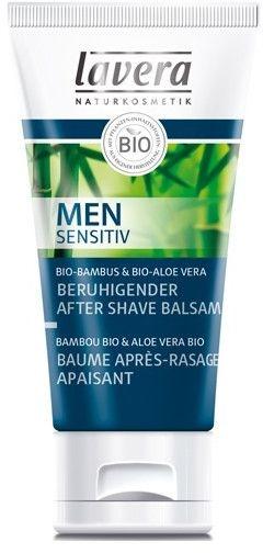 Beruhigender After Shave Balsam mit Bio Bambus und Aloe Vera - Lavera Men Sensitiv Beruhigender After Shave Balsam — Bild N1