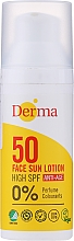 Düfte, Parfümerie und Kosmetik  Anti-Aging Sonnenschutzlotion für das Gesicht SPF 50  - Derma Sun Face Lotion Anti-Age SPF50