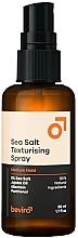 Düfte, Parfümerie und Kosmetik Texturierendes Haarspray mit Meersalz Mittlerer Halt - Beviro Salty Texturizing Spray Medium Hold