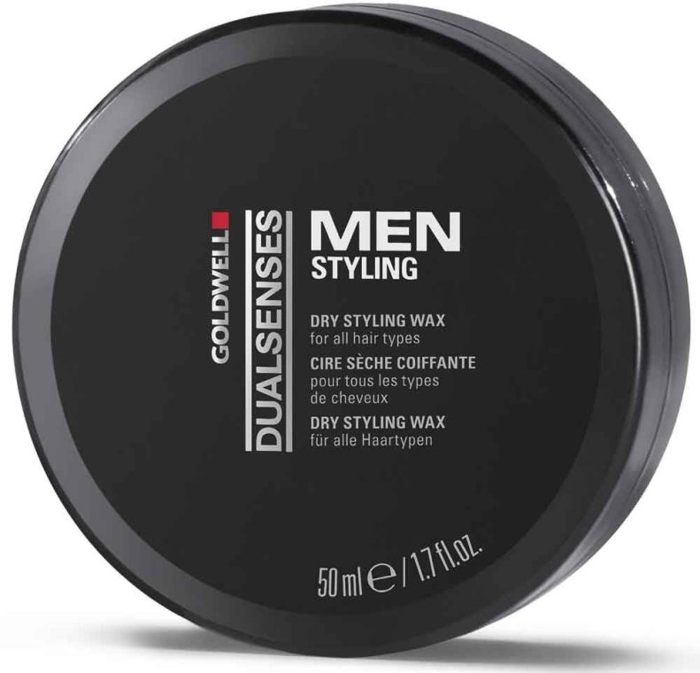 Haarwachs Mittlerer Halt - Goldwell Goldwell Dualsenses For Men Dry Styling Wax — Bild N1