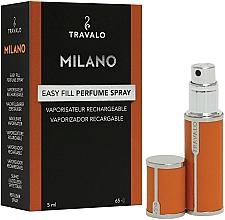 Düfte, Parfümerie und Kosmetik Nachfüllbarer Parfümzerstäuber orange - Travalo Milano Orange