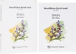 Düfte, Parfümerie und Kosmetik Tuchmaske für das Gesicht gegen Akne Spanien - Calluna Medica Spain Anti-Acne Biocellulose Facial Mask