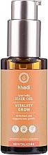 Düfte, Parfümerie und Kosmetik Ayurvedisches revitalisierendes Haaröl zum Wachstum - Khadi Ayurvedic Vitality Grow Hair Oil