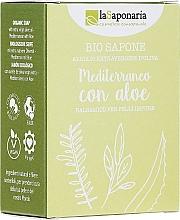 Düfte, Parfümerie und Kosmetik Seife mit Aloe Vera-Extrakt und Olivenöl - La Saponaria Aloe Soap