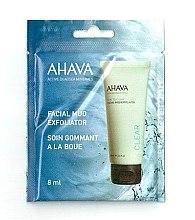 Düfte, Parfümerie und Kosmetik 2-Minuten-Gesichtsmaske mit Schlamm - Ahava Time To Clear Facial Mud Exfoliator (Probe)