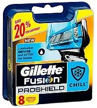 Düfte, Parfümerie und Kosmetik Ersatzbare Rasierklingen 8 St. - Gillette Fusion ProShield Chill