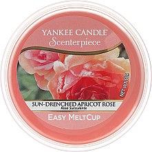 Düfte, Parfümerie und Kosmetik Duftendes Wachs - Yankee Candle Sun-Drenched Apricot Rose Melt Cup
