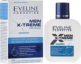 Düfte, Parfümerie und Kosmetik Intensiv beruhigende After Shave Lotion 6in1 - Eveline Cosmetics Men Extreme Sensitive