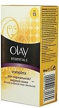 Düfte, Parfümerie und Kosmetik Tagescreme mit Vitaminen LSF 15 - Olay Complete
