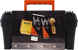 Düfte, Parfümerie und Kosmetik Gesichtspflegeset - Wars (After Shave Lotion 90ml + Rasierschaum 65ml + Beruhigender After Shave Balsam 100ml + Rasierpinsel)