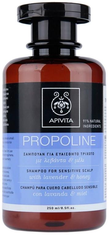 Shampoo für empfindliche Kopfhaut mit Lavendel und Honig - Apivita Shampoo For Sensitive Scalp With Lavender & Honey