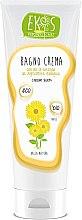 Düfte, Parfümerie und Kosmetik Badecreme mit Bio-Sonnenblumenöl - Ekos Personal Care Bagno Cream Bath