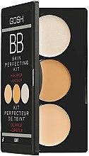Düfte, Parfümerie und Kosmetik BB Palette mit Highlighter & Concealer - Gosh BB Skin Perfecting Kit