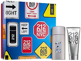 Düfte, Parfümerie und Kosmetik Carolina Herrera 212 Men NYC - Duftset (Eau de Toilette 100ml + After Shave Gel 100ml)
