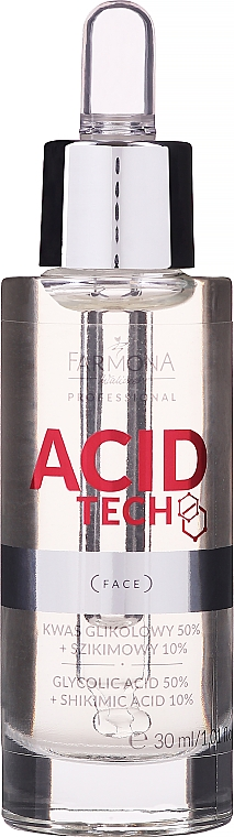 50% Glykolsäure und 10% Shikimisäure zum Peeling - Farmona Professional Acid Tech Glycolic Acid 50% + Shikimic Acid 10%
