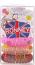 Haargummis Farb-Mix 6 St. №9 - Ronney Professional Funny Ring Bubble 9 — Bild N1