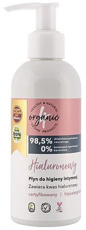 Gel für die Intimhygiene mit Hyaluronsäure - 4Organic Hyaluronic Intimate Gel