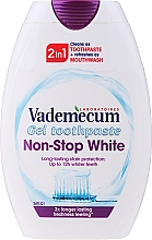 Düfte, Parfümerie und Kosmetik 2in1 Aufhellende Zahnpasta - Vademecum Non-Stop White 2in1 Toothpaste + Mouthwash