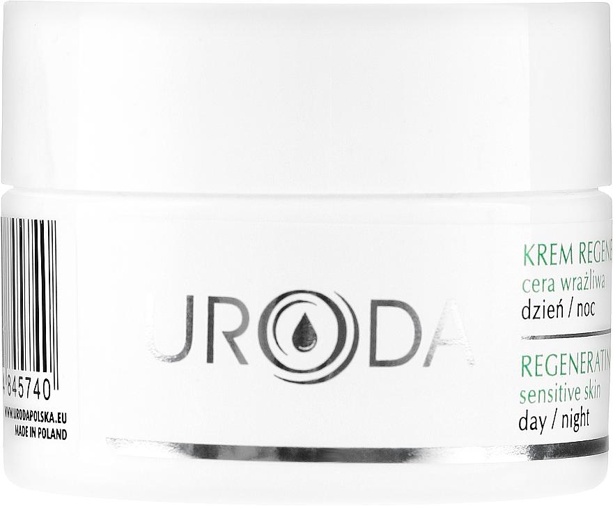 Regenerierende Gesichtscreme für empfindliche Haut - Uroda Regenerating Face Cream For Sensitive Skin