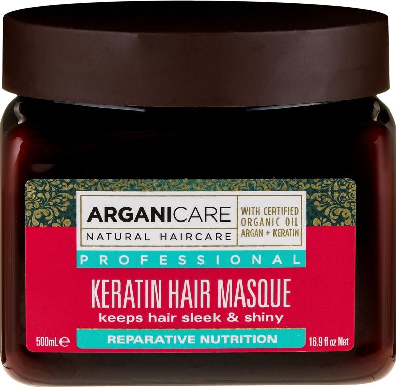 Pflegende Keratinmaske für alle Haartypen - Arganicare Keratin Nourishing Hair Masque