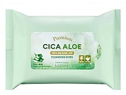 Düfte, Parfümerie und Kosmetik Feuchtigkeitsspendende und beruhigende feuchte Reinigungstücher mit Aloe Vera - Premium Cica Aloe Cleansing Wipes