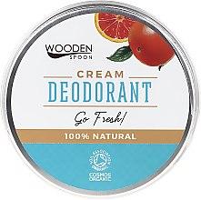 Düfte, Parfümerie und Kosmetik Erfrischende Deo-Creme - Wooden Spoon Go Fresh Cream Deodorant