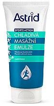 Düfte, Parfümerie und Kosmetik Feuchtigkeitsspendende und kühlende Emulsion für Körpermassage - Astrid Sports Action Cooling Massage Cream