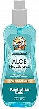 Düfte, Parfümerie und Kosmetik Kühlendes After Sun Körpergel mit Aloe Vera - Australian Gold Aloe Freeze Gel