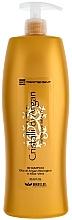 Düfte, Parfümerie und Kosmetik Feuchtigkeitsspendendes Shampoo mit Arganöl und Aloe Vera - Brelil Bio Traitement Cristalli d'Argan Shampoo Intensive Beauty
